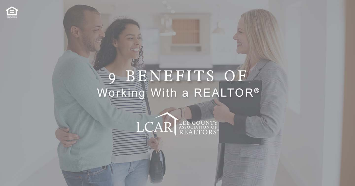 benefits of working with a REALTOR®